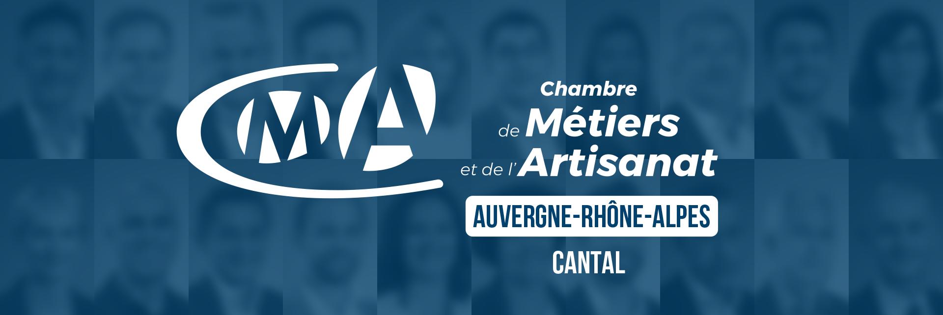 CMA Auvergne-Rhône-Alpes - équipe de direction CMA Cantal